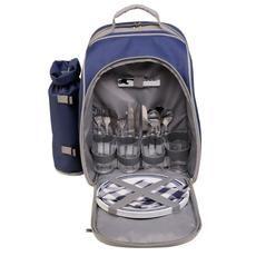 Bolsa Térmica Cooler Mor Ballina 20 Litros com kit Acessórios para Camping e Piquinique
