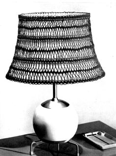 Vintage Crafts and More Hairpin Lace Lamp Shade Pattern