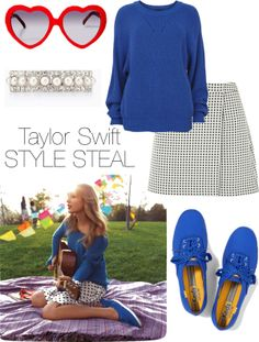 """Taylor Swift Style Steal!"" by haley-ferrante on Polyvore"