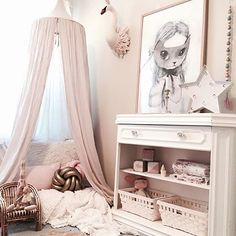 Find your favorite for the kids room or nursery. Baby Bedroom, Girls Bedroom, Bedroom Decor, Scandinavian Kids Rooms, Kids Corner, Little Girl Rooms, Fashion Room, Kid Spaces, Kids Decor