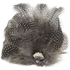 Laliberi Pin and Clip Flower, Feather Drop Gray -- Read more info by clicking the link on the image. #hairdiva