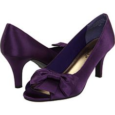 """Bouquets """"Trish,"""" 3 inch heel.  So comfortable!! Wore them at least 10 hours without changing.  And everyone loved my purple shoes.  :)"""