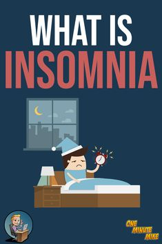 What is INSOMNIA? Things You Didn't Know About INSOMNIA - ONE MINUTE MIKE  #insomnia #sleep #nosleep #insomniac #whatisinsomnia #insomniacure