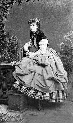"Alexandra ""Sanny"" (Alexandra Iosifovna) (8 Jul 1830-6 Jul 1911) Saxe-Altenburg, Germany. Wife of Grand Duke Konstantin ""Kosti"" Nikolaevich Romanov (21 Sep 1827-25 Jan 1892) Russia."