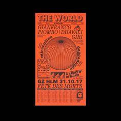 """Gefällt 393 Mal, 5 Kommentare - Dank Type™ (@danktype) auf Instagram: """"The World → Félicité Landrivon . . . . . . . . . . #typography #graphicdesign #poster #print…"""""""