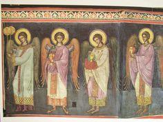 Christ, Byzantine, Wall Murals, Deco, Painting, Archangel, Saints, Interior, Sacred Art