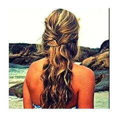 her hair 25 ❤ liked on Polyvore