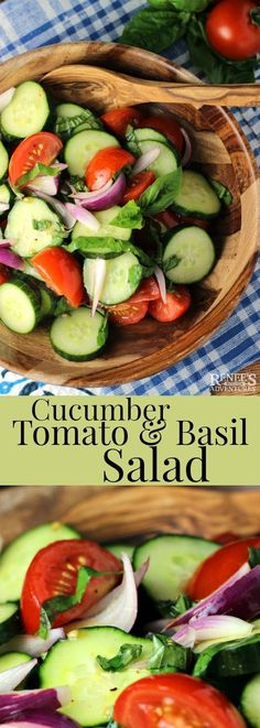 Cucumber, Tomato, an