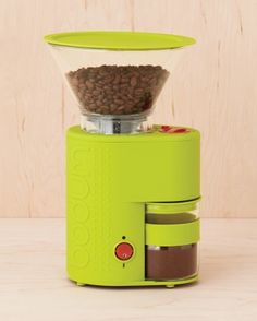 Mess-Free Coffee Grinder. (In a different color)