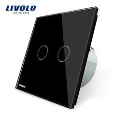 $19.03 (Buy here: https://alitems.com/g/1e8d114494ebda23ff8b16525dc3e8/?i=5&ulp=https%3A%2F%2Fwww.aliexpress.com%2Fitem%2FFree-Shipping-Livolo-EU-Standard-VL-C702-12-Black-Crystal-Glass-panel-2-Gangs-1-Way%2F649524485.html ) Livolo EU Standard, Wall Switch VL-C702-12,Black Crystal Glass panel, 2 Gangs 1 Way, Wall Light Touch Screen Switch for just $19.03