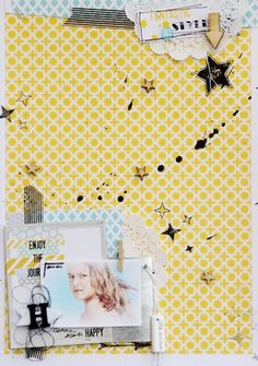 Totalement Scrap: clean free layout, scrapbook page with com.16 printable papers