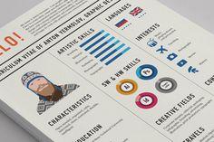 tips for a creative curriculum - available on http://clubedodesign.com/2015/01/dicas-para-criar-um-curriculo-criativo/