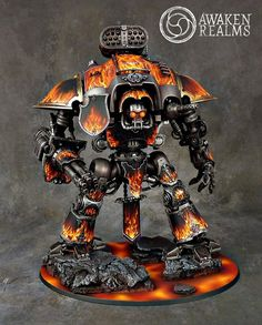 Warhammer 40k | Imperial Knight | Legion of the Damned Imperial Knight…
