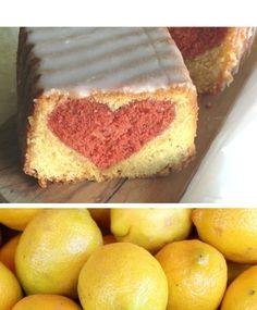 , Tags Backen, DIY, Herz, Kuchen, Muttertag, Zitronenkuchen, DIY