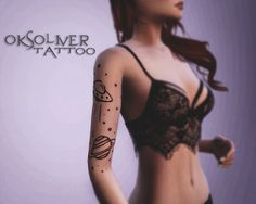 OksOliver ✧ Sims4 Tattoo