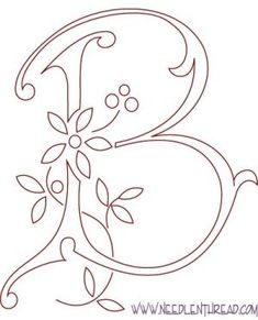 Printable+Quilling+Patterns | tlbryant2006 Whole alphabet of monograms - good to paint on canvas