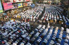 The Eid Ul Adha Namaz At Bandra Station  2012