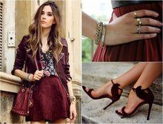 #marsala #fashion #color #pantone #blog  http://www.todacharmosa.com/2015/04/inspiracao-fashion-marsala-cor-do-ano.html