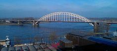 Waal bridge Nijmegen Holland