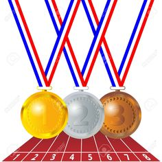 olympic medals royalty free stock photo image 23301835 racing rh pinterest com olympic gold medal clipart olympic medal clipart black and white