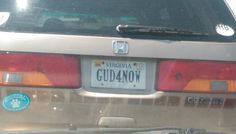 GUD4NOW. But what about later? Car License Plates, Vehicles, Car Number Plates, Car, Vehicle, Tools