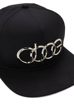 1d6e70e4a3b A snapback hat by Dope™ featuring a high-polish metallic front logo and an