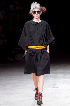 Yohji Yamamoto Spring 2014 Ready-to-Wear Fashion Show