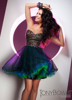 Colorful Cocktail Dresses - Fn Dress