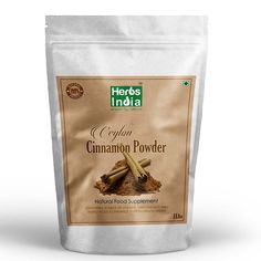Herbs India - Cinnamon (Ceylon) Powder 16 Oz 1lb. 100% Premium Ceylon Cinnamon *** Check this awesome image  : Herbal Supplements