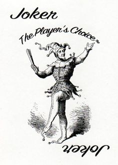 The Players Choice Joker Playing Card