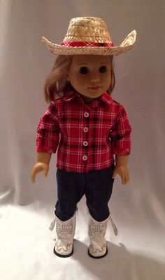 American Girl Doll Cowgirl Outfit