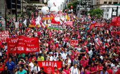 Movimentos que não chegavam a um acordo unificaram o discurso e reuniram 55.000 pessoas. Ato pró-impeachment teve 40.300