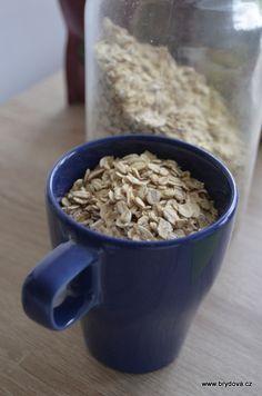 Vločkové sušenky - brydova.cz Ham, Cereal, Oatmeal, Cookies, Breakfast, The Oatmeal, Crack Crackers, Morning Coffee, Hams