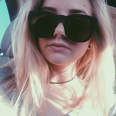 """45.7k Likes, 624 Comments - maddi bragg (@maddibragg) on Instagram: """"I lost my favorites sunglasses so here's a picture to honor them rip ❤️"""""""