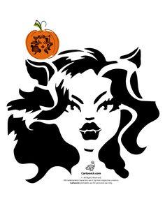 Monster High Pumpkin Carving Patterns Clawdeen Wolf Monster High Doll Pumpkin Carving Pattern – Cartoon Jr.