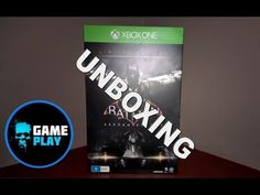 Arkham Knight Limited Edition Batman Memorial Collectors Unboxing Xbox One