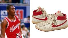 Michael Jordan's 1984 game-worn shoes to be auctioned | NBA | Sporting News