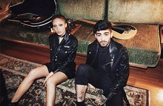 God Save the Queen and all: Zayn Malik x Versus Versace: Spring '17 Campaign b... #versusversace #ss17 #campaign #gigihadid #zaynmalik