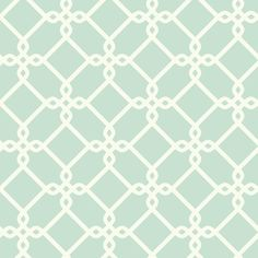"York Wallcoverings Ashford Geometrics Threaded Links 33' x 20.5"" Geometric Wallpaper 