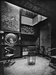 The Inner Hall in the Japanese Style by Mortimer Menpes for 25 Cadogan Gardens, London