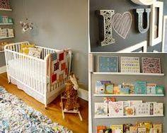 Floating Book Shelves and Chalkboard Walls