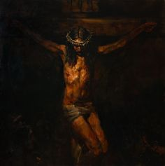 Anatoly Shumkin 2015 Christ on the Cross (2st part of the Triptych)