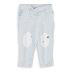 Silver Jersey Pants  | Toronto Baby Store: balafant boutik  the jersey pants by aden + anais are a comfy classic for all seasons with adorable knee patches in our signature prints (a must for little crawlers). Made from 100% cotton jersey, the fabric moves and stretches with your little one for ultimate comfort.  manufacturer: aden + anai
