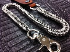 BOX Chainmaille Wallet Chain