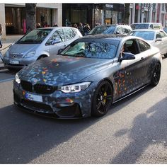 F82 M4 with a Custom Wrap #m_motorsports #m4 #bmw