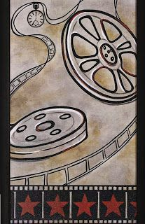 Deco Cinema, Cinema Party, Movie Decor, Movie Themes, Pop Art Vintage, Vintage Signs, Decoupage, Bullet Journal Films, Movie Q