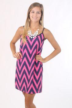 Braiden Bow Back Dress, pink $45 www.themintjulepboutique.com