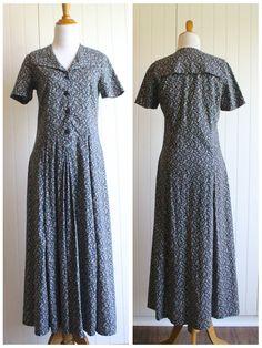 Ruth - vintage Laura Ashley dress