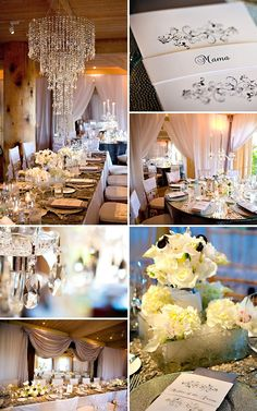 Chic Hollywood Glam Wedding At Auberge du Soleil From Adeline & Grace Photography   Style Me Pretty