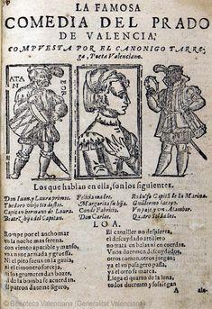 La famosa comedia del Prado de Valencia  [Texto impreso]